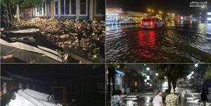 طوفان «ایسایاس» در آمریکا ۵ کشته برجا گذاشت/ برق 2.8 میلیون نفر قطع شد