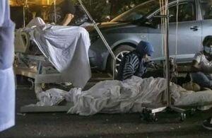 عکس/ وضعیت نامناسب بیمارستان بیروت