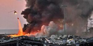 واکنش لبنان به ادعای ترامپ درباره علت انفجار در بیروت