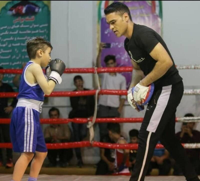 بوکسور هشت ساله ایرانی، ستاره آینده آسیا +فیلم