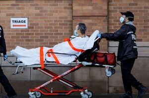 رکوردشکنی کرونا در آمریکا با ۴۶۰۰ قربانی در ۲۴ ساعت