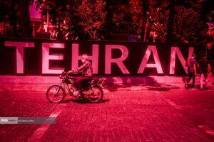 عکس/ تهران در وضعیت قرمز