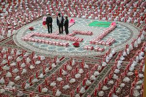 عکس/ اقدام زیبای شیرازیها در آستانه عید غدیر