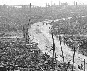 عکس/ هیروشیما بعد از بمب اتم
