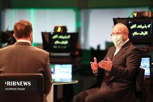 فیلم/ رئیس مجلس در شبکه خبر