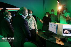 بازدید رئیس مجلس از خبرگزاری صداوسیما