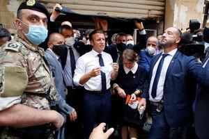 علت حضور ماکرون در بیروت چه بود؟