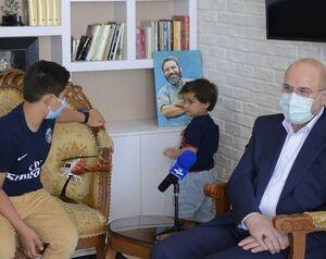 تصاویری از دیدار قالیباف با خانواده سردبیر فقید روزنامه جامجم