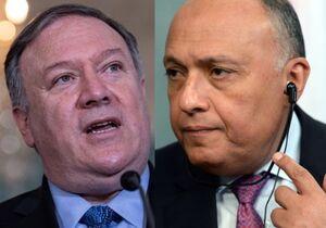 گفتوگوی وزرای خارجه آمریکا و مصر درباره آتشبس در لیبی