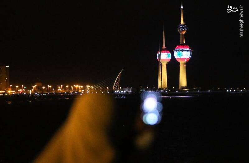 2874736 - عکس/ همدردی با مردم لبنان در کویت