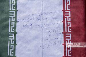 عکس/ عطر افشانی مزار شهدای گمنام توسط اهالی رسانه