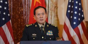 هشدار وزیر دفاع چین به همتای آمریکایی خود