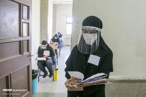 عکس/ برگزاری آزمون کارشناسی ارشد در تبریز