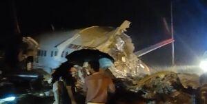 سقوط هواپیمای مسافربری در  هند با ۱۹۱ مسافر +عکس