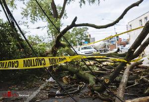 عکس/ خسارتهای ناشی از طوفان نیویورک