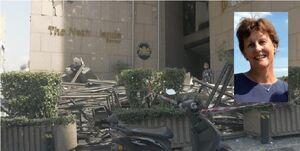 همسر سفیر هلند در لبنان، بعد از جراحت شدید جان باخت