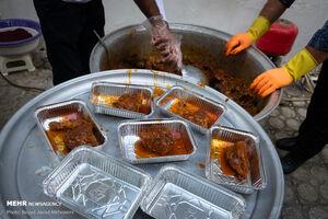 عکس/ سنت حسنه اطعام غدیریه