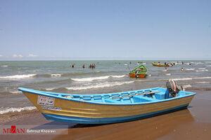 عکس/ کرونا گردی در ساحل خزر