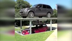 پارکینگهایی مخفی در زیر زمین + فیلم