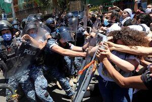 تظاهرات لبنان کشته داد