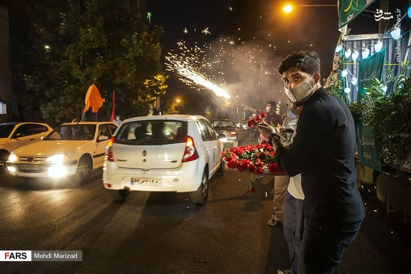 2876219 - عکس/ جشن عید غدیر در خیابانهای تهران