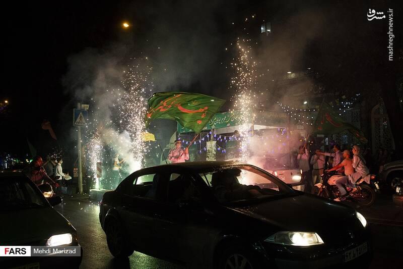 2876221 - عکس/ جشن عید غدیر در خیابانهای تهران