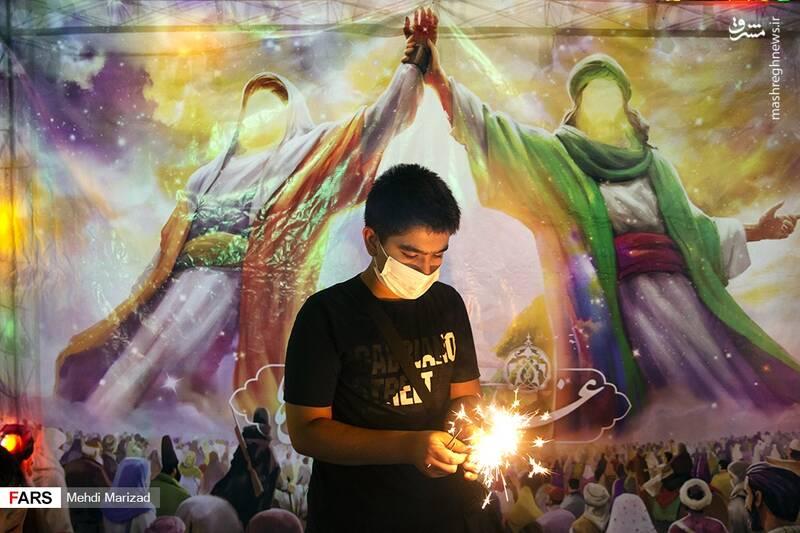 2876222 - عکس/ جشن عید غدیر در خیابانهای تهران