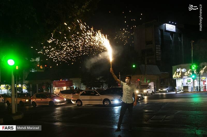 2876225 - عکس/ جشن عید غدیر در خیابانهای تهران