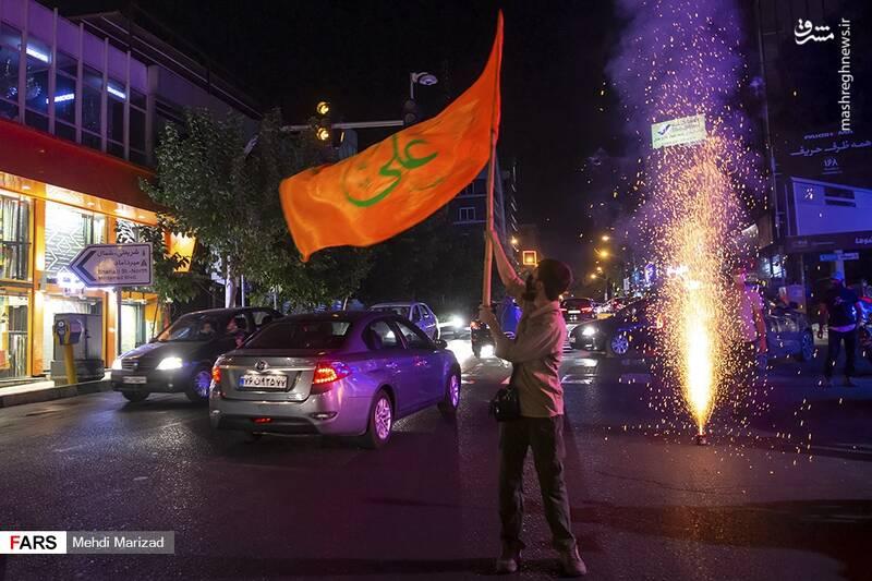 2876231 - عکس/ جشن عید غدیر در خیابانهای تهران