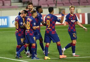 لیگ قهرمانان اروپا| بارسلونا و بایرن مونیخ به یکدیگر رسیدند/ ناپولی و چلسی حذف شدند