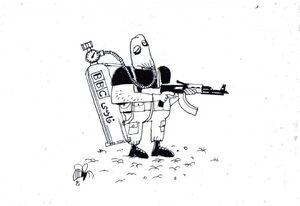 کاریکاتور/ خبرنگار بیآزار از نگاه بیبیسی!