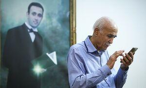 عکس علیرضا را ۱۵ سال از خودم جدا نکردم/ روز خبرنگار بدون علیرضا بی معنی بود