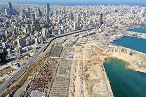 تصاویر جدید از خسارات انفجار در بیروت