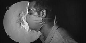قابلمهای که ماسک N ۹۵ را ضدعفونی میکند +عکس