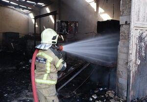 فیلم/ جزئیات آتشسوزی مرگبار بازار پردیس