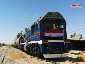 بازگشایی مسیر راهآهن دمشق _طرطوس پس از ۹ سال +عکس