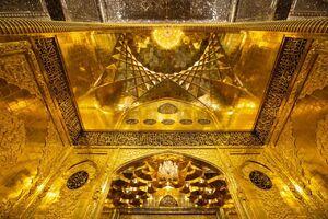 عکس/ ایوان طلای حرم حضرت عباس(ع)