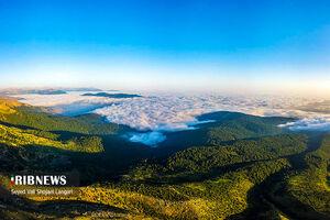 عکس/ چشم اندازهای زیبا در ارتفاعات ساری