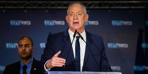 موجسواری وزیر جنگ اسرائیل بر روی انفجار بیروت