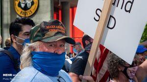 عکس/ سیاتل همچنان صحنه اعتراضات مردمی