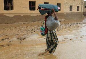 فیلم/ سیلاب گسترده در یمن