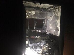 آتشسوزی در یک مهمانپذیر در خیابان کارگر +عکس