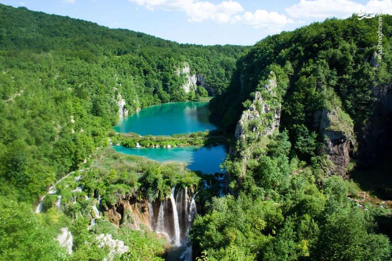 دریاچه پلیتویتسکی در کرواسی
