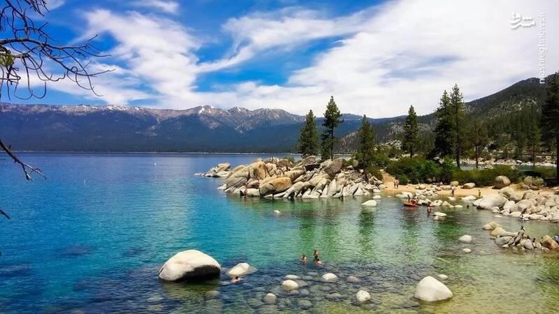 دریاچه تاخو در منطقه نوادا در آمریکا