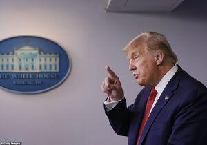 فرار ترامپ از کاخ سفید