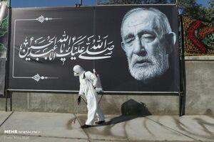 عکس/ تشییع پیکر فخرالذاکرین حاج فیروز