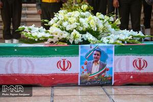 عکس/ تشییع شهید مدافع سلامت در اصفهان