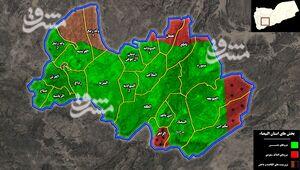 جزئیات عملیات گسترده علیه داعش و القاعده در مرکز یمن/ عزم رزمندگان برای تامین امنیت مثلث راهبردی «صنعاء- البیضا - مارب» + نقشه میدانی و عکس