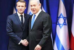 ماکرون نتانیاهو