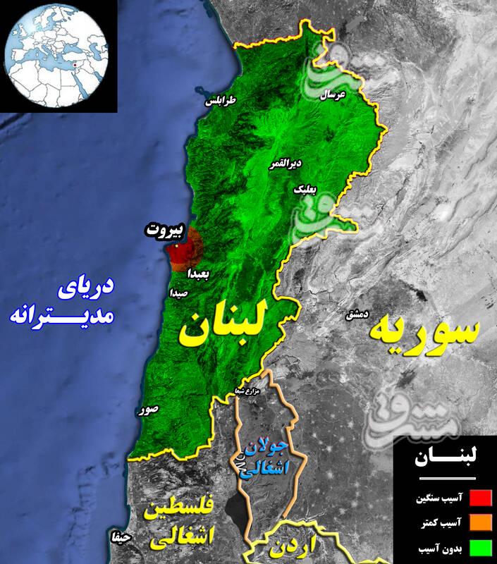 2879721 - جزئیات پروژه جدید برای تکرار سناریوی سال ۲۰۰۵ و تسخیر دوباره لبنان + نقشه میدانی و عکس